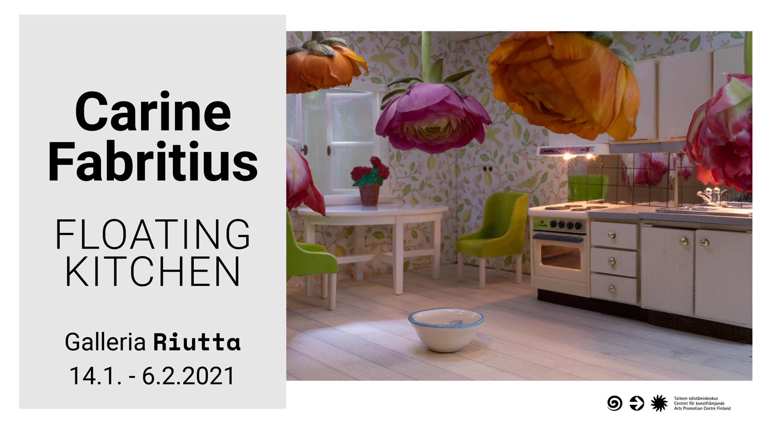 RIUTTA  – Carine Fabritius — Floating Kitchen 14.1.2021-6.2.2021