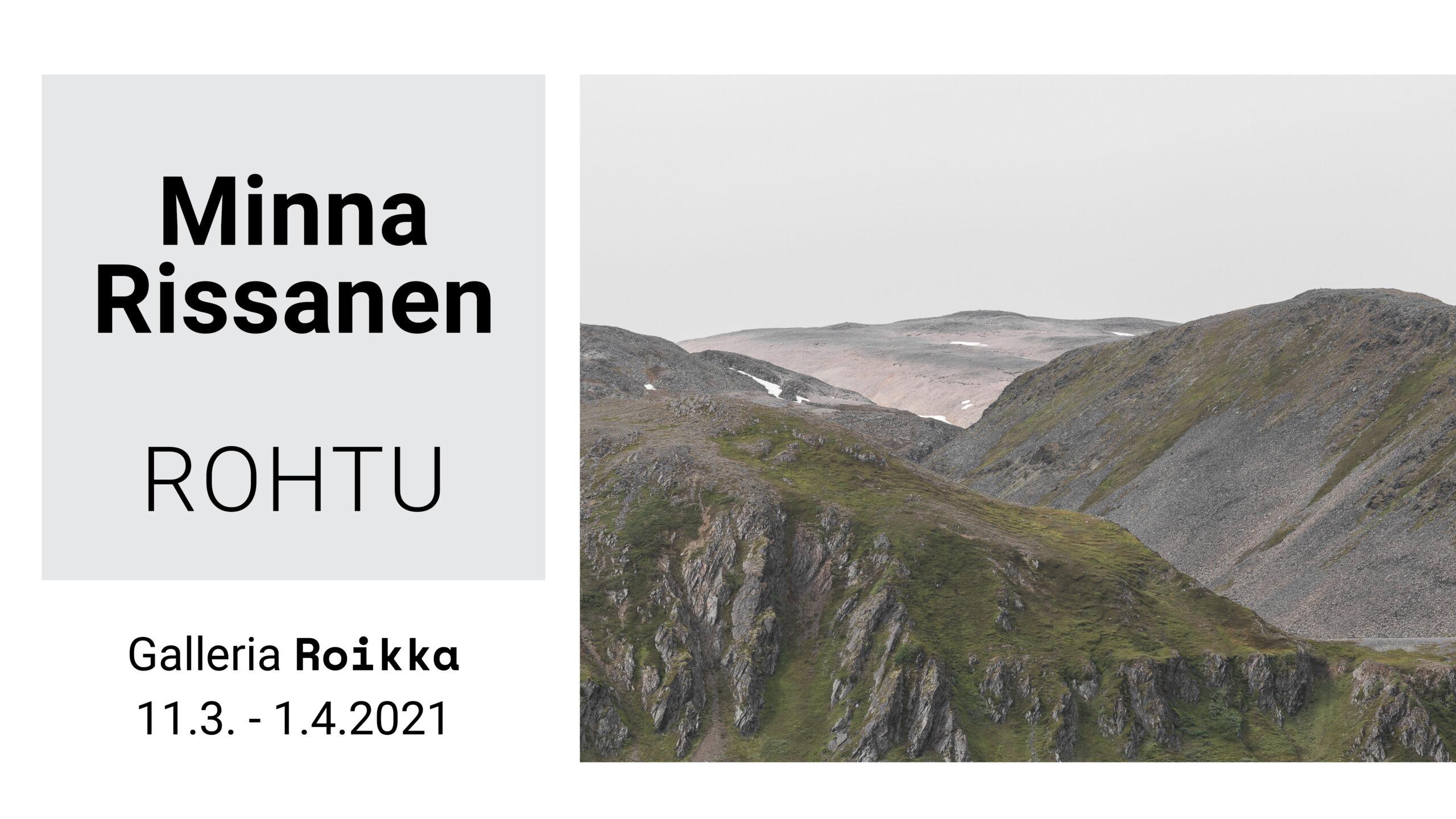 ROIKKA  – Minna Rissanen — Rohtu 11.3.2021-1.4.2021