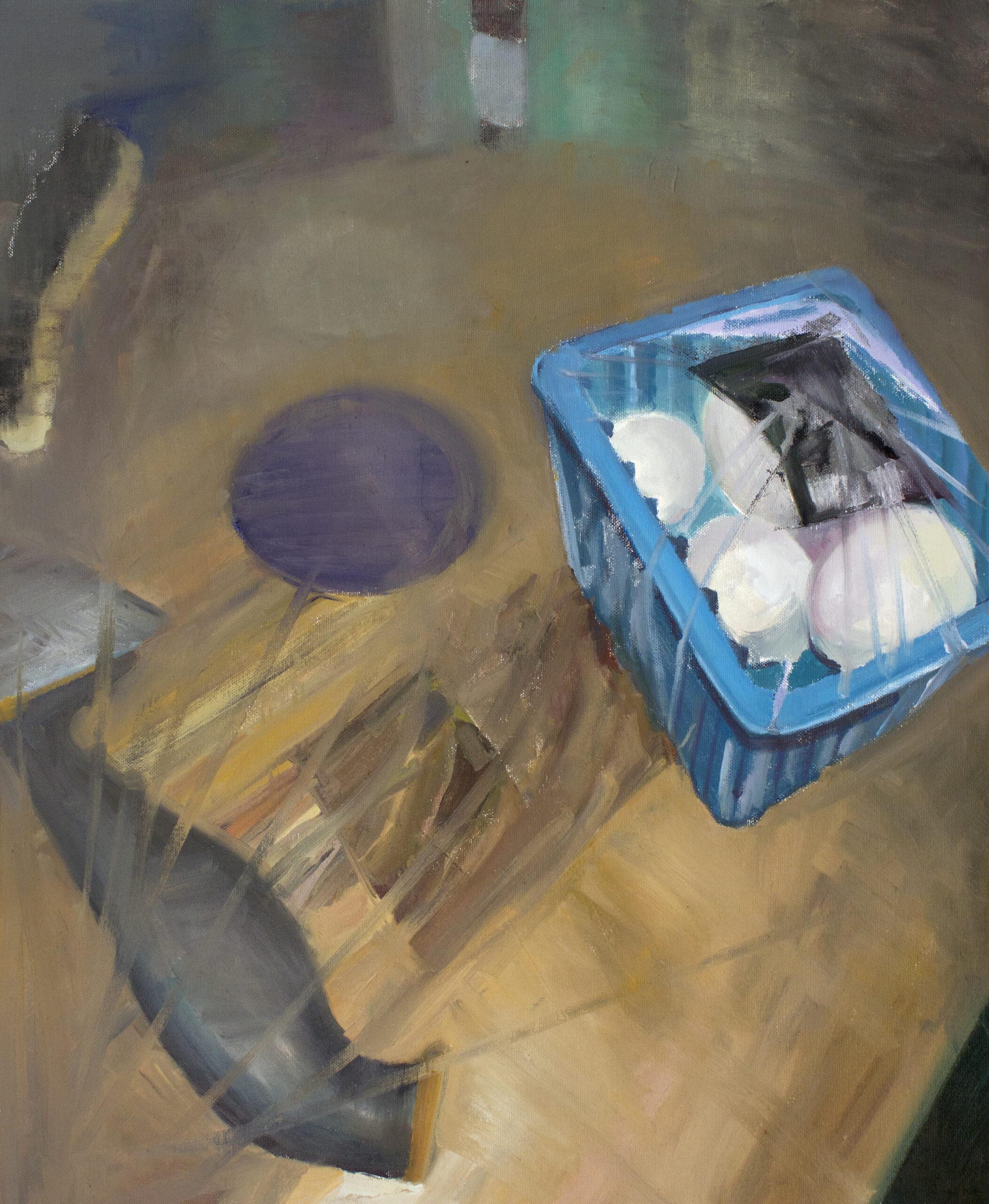 RIUTTA  – Pauliina Heiskanen — Koirani söi homeisen leivän, tomaatteja ja hiuksia roskakorista 6.5. -29.5.2021